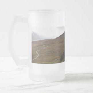 Healy Pass, Winding Road in Ireland. Coffee Mugs