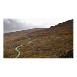 Healy Pass, Winding Road in Ireland. Pack Of Standard Business Cards
