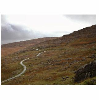 Healy Pass Winding Road in Ireland Photo Sculpture