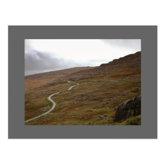 Healy Pass, Winding Road in Ireland. Post Cards