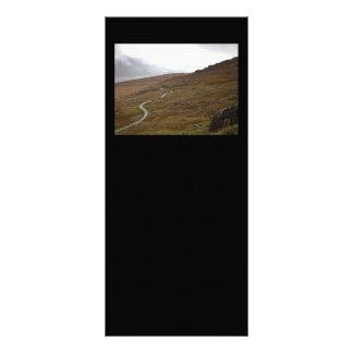 Healy Pass Winding Road in Ireland Rack Card Design