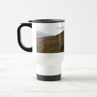 Healy Pass, Winding Road in Ireland. Stainless Steel Travel Mug