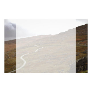 Healy Pass Winding Road in Ireland Customized Stationery