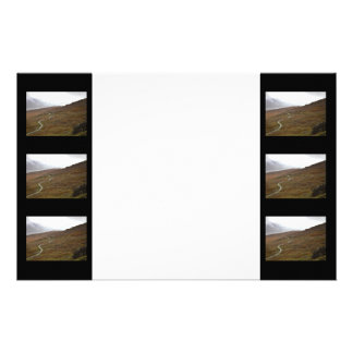 Healy Pass Winding Road in Ireland Stationery Paper