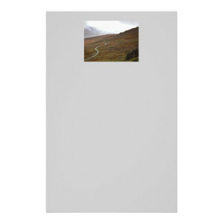 Healy Pass Winding Road in Ireland Custom Stationery