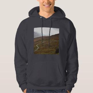 Healy Pass, Winding Road in Ireland. Sweatshirt