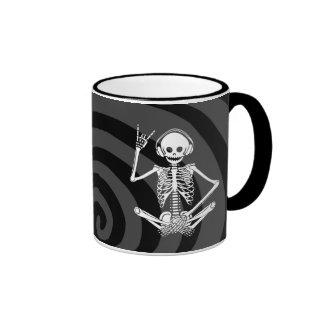 Hear Evil Ringer Coffee Mug