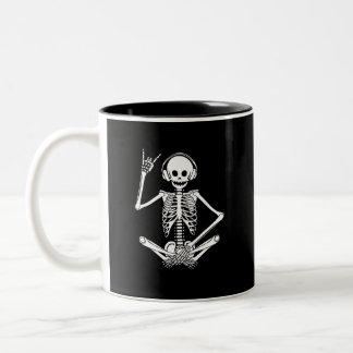 Hear Evil Two-Tone Coffee Mug
