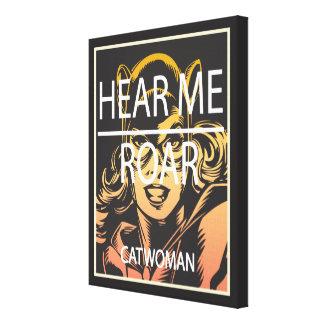 Hear Me Roar Canvas Prints