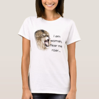 Hear Me Roar Ladies Tee