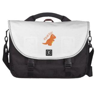 Hear Me Roar Laptop Messenger Bag