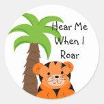 Hear Me When I Roar Sticker