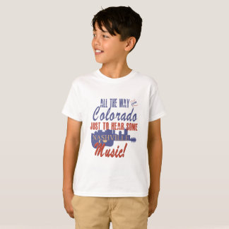Hear Nashville Music from Colorado Kid's T-Shirt