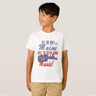 Hear Nashville Music from Maine Kid's T-Shirt