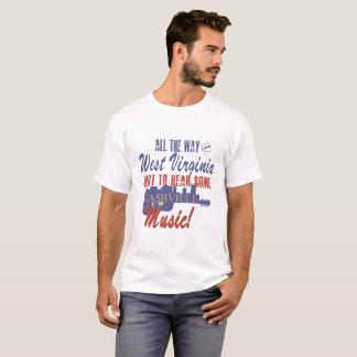 Hear Nashville Music from West Virginia T-Shirt