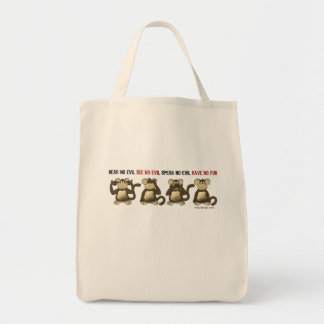 Hear No Evil Have No Fun Bag