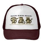 Hear No Evil Monkeys Cap