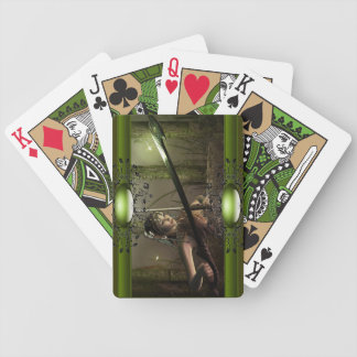 Hear the serenity playing cards