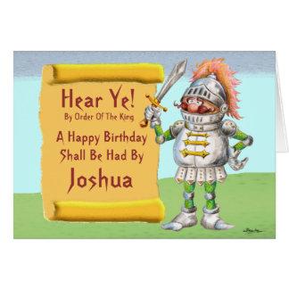 Hear Ye Happy Birthday Greeting Cards