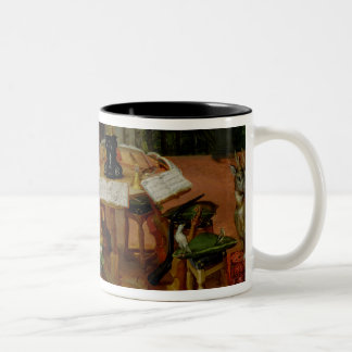 Hearing, 1617 Two-Tone coffee mug