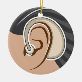 Hearing Aid Christmas Ornament