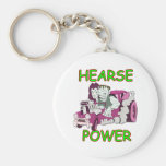 Hearse Power Key Chain