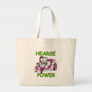 Hearse Power Large Tote Bag