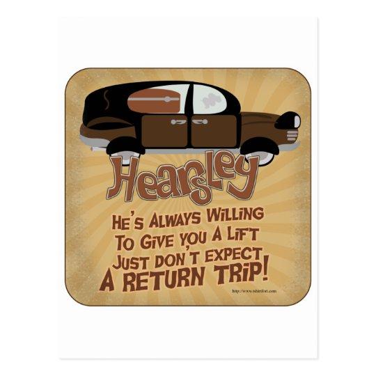 Hearsley's Motto Postcard
