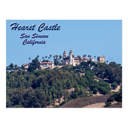Hearst Castle-San Simeon, California Postcard
