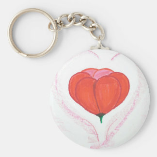 hearst n blossom keychain