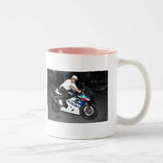 heart1t, vic, Irene, Would you ride away with m... Two-Tone Coffee Mug