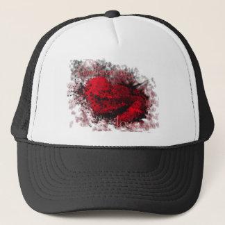 heart2 trucker hat