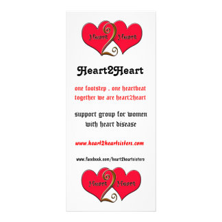 heart2heart tack  card