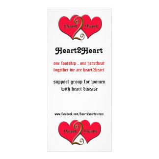 heart2heart tack  card full colour rack card