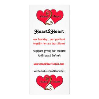 heart2heart tack  card rack card