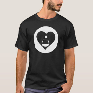 Heart2Tails White Graphic T-Shirt