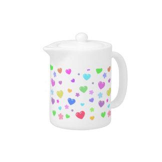 Heart . ハート . Teapot