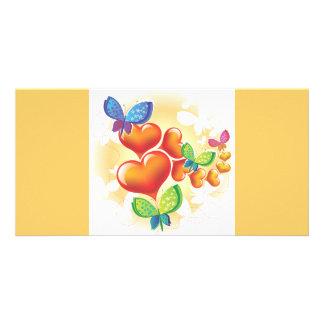 Heart-190.ai Customised Photo Card