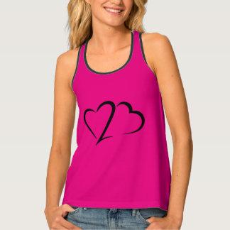 Heart 23™ Brand Women's Pink Racerback Tank Top
