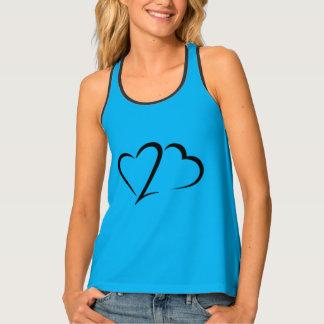 Heart 23™ Brand Women's Sky Racerback Tank Top