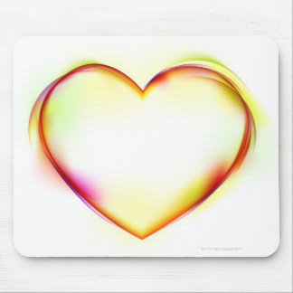 Heart 2 mouse mat