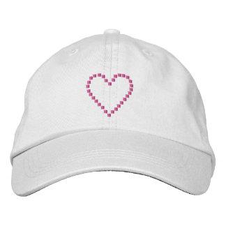 Heart 4 redo embroidered baseball cap