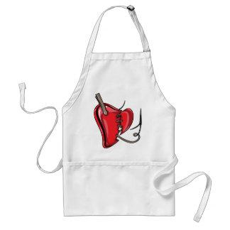 heart-9Red Heart Broken Torn Sew Love Hearts Aprons