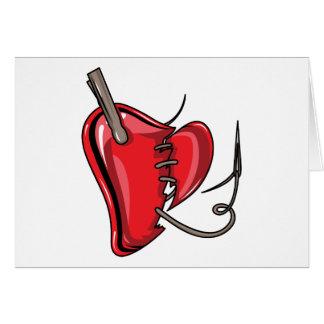 heart-9Red Heart Broken Torn Sew Love Hearts Cards
