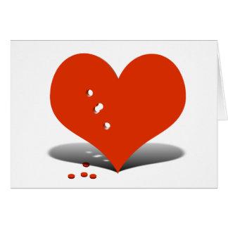 Heart Ache Greeting Card