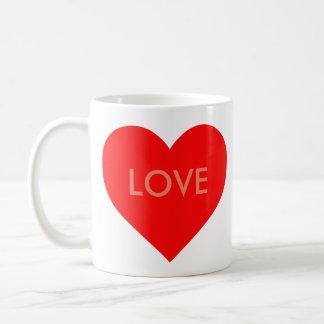 Heart (adaptable) coffee mug
