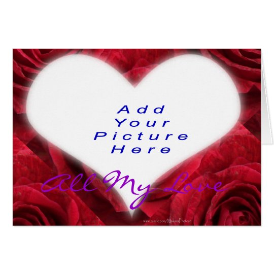 Heart Add-A-Picture-customise Card