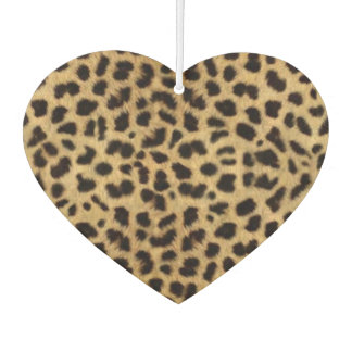 Heart Air Freshener/Leopard Car Air Freshener