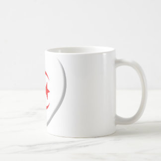 Heart Algérie flag coils Coffee Mug