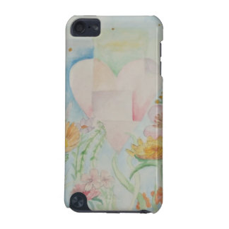 Heart amongst the Flowers ipod cover